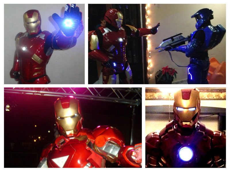 Build Your Own IronMan Armor Costume