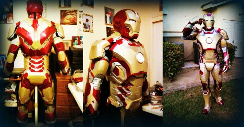 custom iron man suit