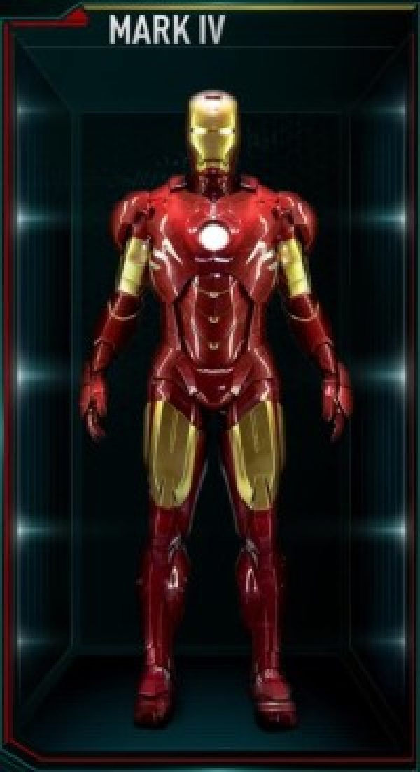 Iron Man Armor Costume Mark 4
