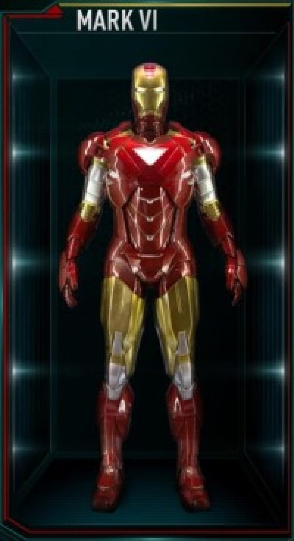 Iron Man Armor Costume Mark 6