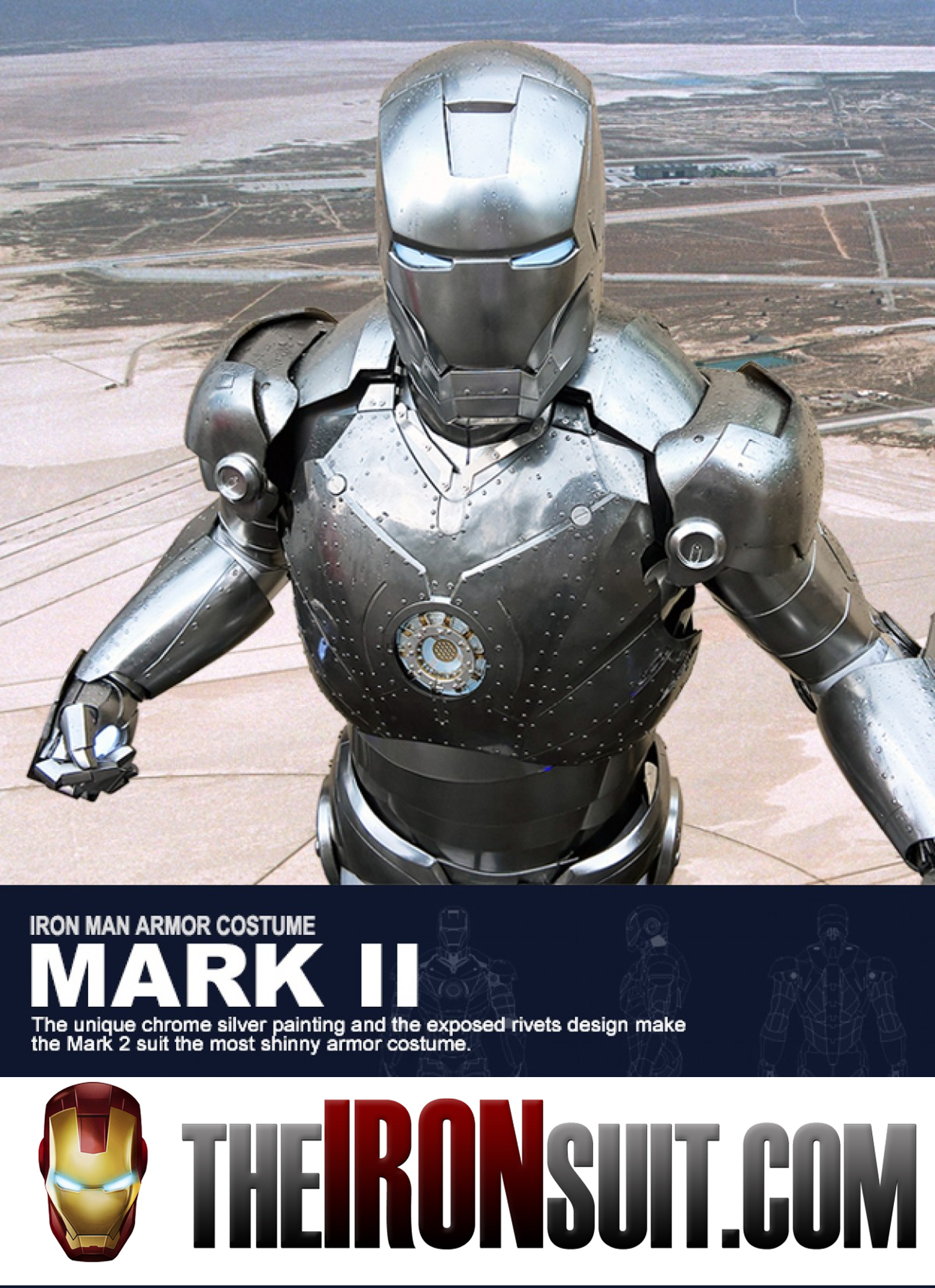 Iron Man Suit Mark II (Mark 2)