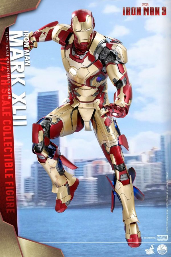Iron Man Armor Costume mark 42
