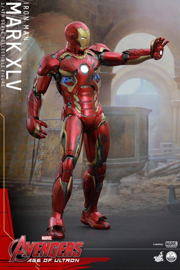 Iron Man Armor Costume mark 45