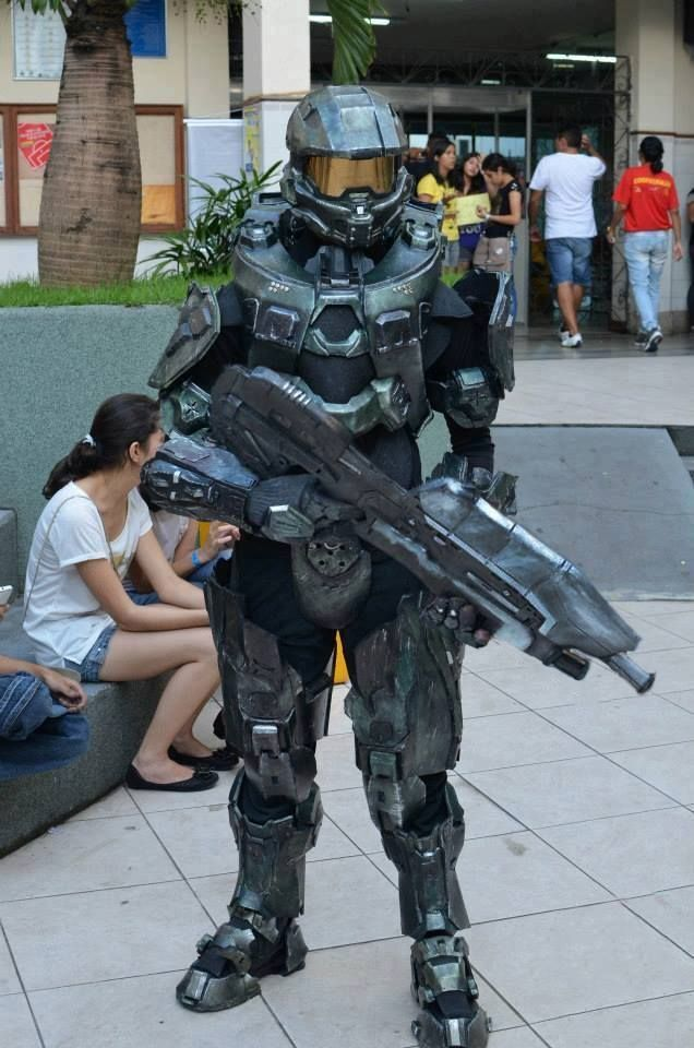 Master Chief Collection Costume Do It Yourself