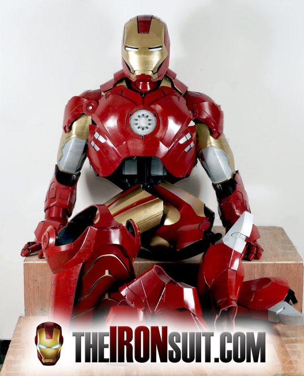 Iron Man Suit Mark XLVII 4