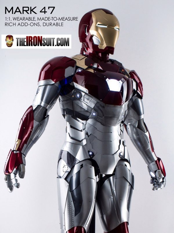 Iron Man Suit Mark XLVII 1